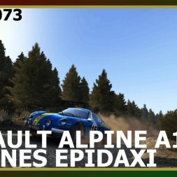 Dirt Rally - Renault Alpine A110 - Pedines Epidaxi
