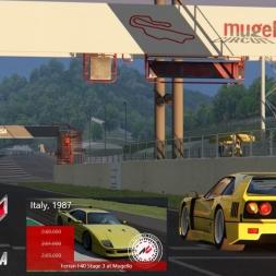 Assetto Corsa - Ferrari F40 s3 - Mugello