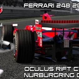 Oculus Rift Cv1 - Race Ferrari 248 2006 @ Nurburgring