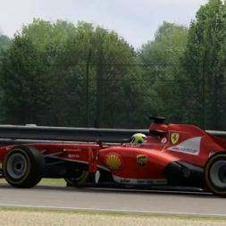 2013 Ferrari F1 @ Spa