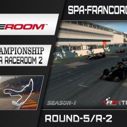 RaceRoom: FR2/S1 - Online Championship`16 (R5/Race-2 Spa-Francorchamps GP)