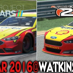 Project Cars X rFactor 2 : Nascar @ Watkins Glen