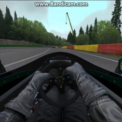 Spa alternative pit exit and fastlane