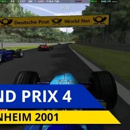LA F1 IL Y A 15 ANS - Hockenheim 2001 (Grand Prix 4)