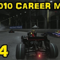 F1 2010 Career - S2R15 - Singapore - The Craziest Race!!!