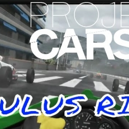 Project CARS Oculus Rift CV1 Gameplay - Formula Rookie at Azure Coast