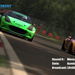 RD MX5 Cup | Round 4 Monza