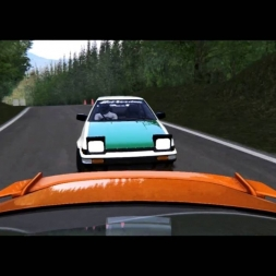 Assetto Corsa // AE86 vs. GT86 // Gunsai Touge