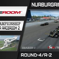 RaceRoom: FR2/S1 - Online Championship`16 (R4/Race-2 Nürburgring GP)
