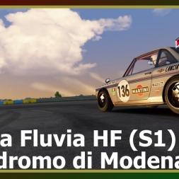 Assetto Corsa - Lancia Fluvia HF (S1) - Autodromo di Modena