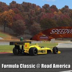 Formula Classic @ Road America - Automobilista 60FPS