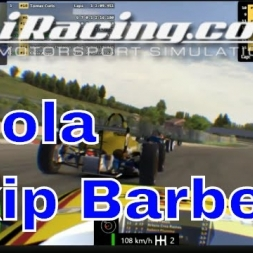 iRacing Skip Barber at Imola official race with Oculus Rift