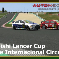 Automobilista - Mitsubishi Lancer Cup - Algarve International Circuit
