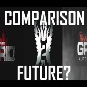 GRID Vs. GRID 2 Vs. GRID AUTOSPORT Comparison And Future