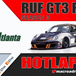 iRacing RUF GT3 Fixed @ Road Atlanta | Hotlap 1'19.134 | Season 3 - 2016