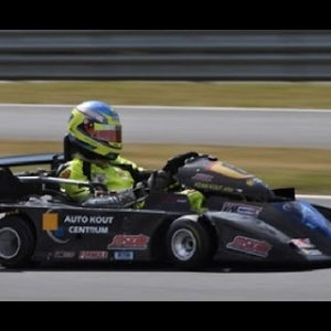 Automobilista 1stPersonView Super Kart at BarberMotor Sport Park Race Side by Side & Sideways AI 90%