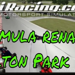iRacing Formula Renault 2.0 at Oulton Park with the Oculus Rift