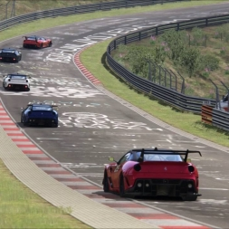 Assetto Corsa: A Two lap Race of Ferrari 599XX Evo insanity