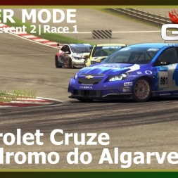 Grid Autosport - Career Mode 07 - Autódromo do Algarve - Chevrolet Cruze