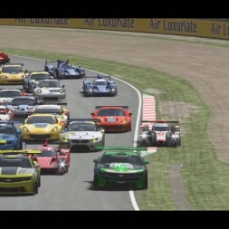 rFactor 2 traffic in Suzuka