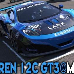 Project Cars [ONLINE] : Mclaren 12C GT3 @ Monza
