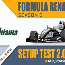iRacing Formula Renault 2.0 @ Road Atlanta   Tutorial Setup   Season 3 - 2016