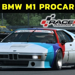 Raceroom - BMW M1 Procar at Zolder