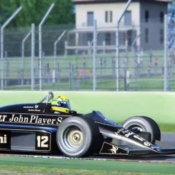 Assetto Corsa  Ayrton Senna-imola 3 laps