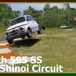 Assetto Corsa - Abarth 595 SS - Hero Shinoi Circuit