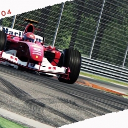 Assetto Corsa ASRformula FERRARI F2004 Michael Schumacher
