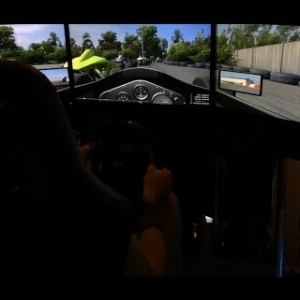 Automobilista - V0.9.95b - Formula VEE - @ Mendig Flugplatz Bergschleife -