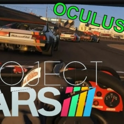 Project CARS Oculus Rift CV1 Gameplay - BMW M1 Procar at Laguna Seca