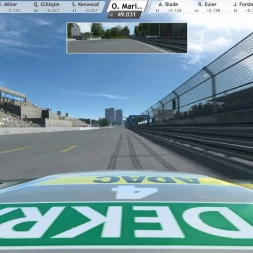 RaceRoom Experience - RaceDepartment DTM Club race at Norisring. Live and delayed.