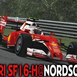 rFactor 2 : Ferrari SF16-H (F1 2016) @ Nordschleife