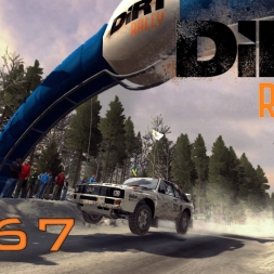 DiRT Rally Gameplay: Audi Quattro Group B Championship (Sweden Part 3) - Episode 67