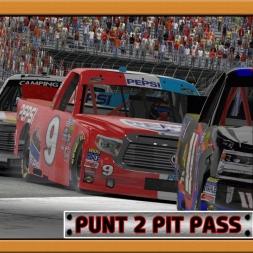 """iRacing: Punt 2 Pit Pass"" (Camping World Trucks at Bristol Motor Speedway)"
