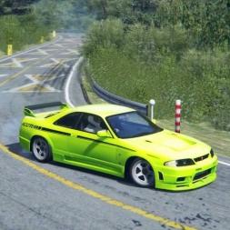 Akina Downhill - Nismo 400R Drift/Touge run Assetto Corsa