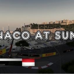 F1 2016 - Monaco At Sunset!
