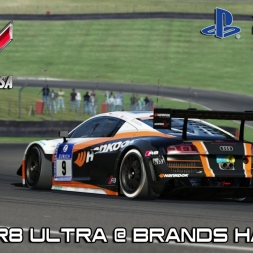 Assetto Corsa PS4  - Audi R8 Utra @ Brands Hatch (MultiCamara)