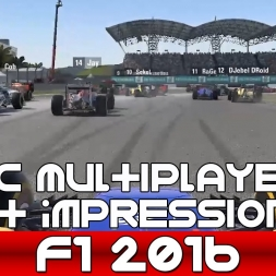 F1 2016 PC Multiplayer 1st Impressions