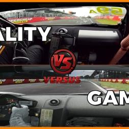 ★Reality VS Game - McLaren 650S GT3 at BATHURST