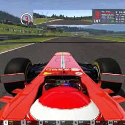 Assetto Corsa Red Bull Ring Online Race F138 My Drive 3.Place