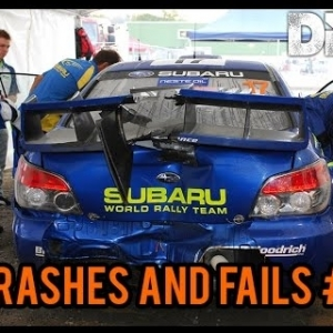 DiRT Rally - Crashes and Fails Compilation#1