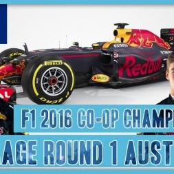 TwinRaGe Youtube Co-op Championship F1 2016 - Round 1 Australia