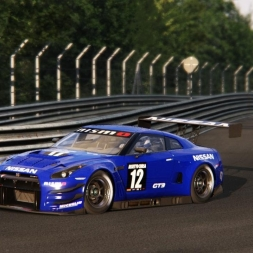 NIssan GT-R GT3 @ Nordschleife - Assetto Corsa Replay 60FPS