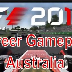F1 2016 Career Gameplay at Australia