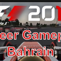 F1 2016 Career Gameplay at Bahrain
