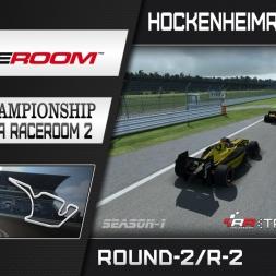RaceRoom: FR2/S1 - Online Championship`16 (R2/Race-2 Hockenheimring GP)