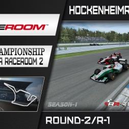 RaceRoom: FR2/S1 - Online Championship`16 (R2/Race-1 Hockenheimring GP)
