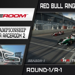 RaceRoom: FR2/S1 - Online Championship`16 (R1/Race-1 Red Bull Ring Spielberg)